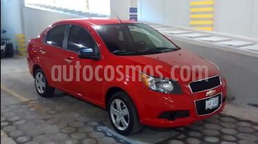 Chevrolet Aveo Paq B usado (2015) color Rojo Victoria precio $118,000
