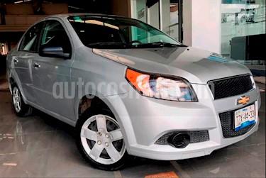 Foto venta Auto Seminuevo Chevrolet Aveo Paq B (2016) color Plata precio $140,000