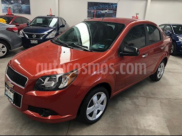 Chevrolet Aveo Paq B usado (2016) color Naranja precio $139,000