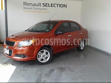 Foto venta Auto usado Chevrolet Aveo Paq B (2016) color Naranja precio $155,000