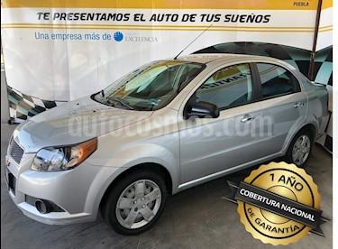 Foto venta Auto usado Chevrolet Aveo Paq B (2016) color Plata precio $135,000
