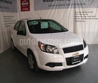Foto venta Auto usado Chevrolet Aveo Paq C (2016) color Blanco precio $132,000