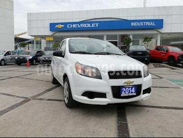 Foto venta Auto usado Chevrolet Aveo Paq C (2014) color Blanco precio $125,000
