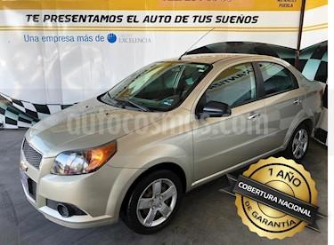 Foto venta Auto Seminuevo Chevrolet Aveo Paq C (2013) color Beige precio $125,000