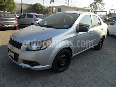 Foto venta Auto Seminuevo Chevrolet Aveo Paq C (2015) color Plata precio $130,000