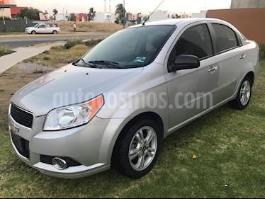 Chevrolet Aveo Paq D usado (2015) color Plata precio $122,000