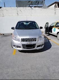 Foto venta Auto usado Chevrolet Aveo Paq D (2014) color Plata precio $105,000