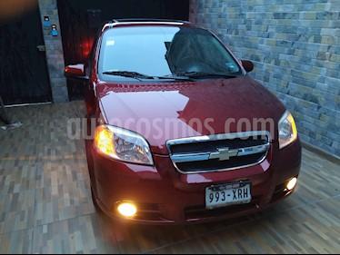 Chevrolet Aveo Paq E usado (2011) color Rojo Merlot precio $79,000