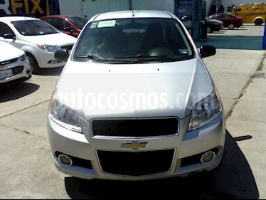 Foto venta Auto usado Chevrolet Aveo Paq E (2017) color Plata precio $137,000