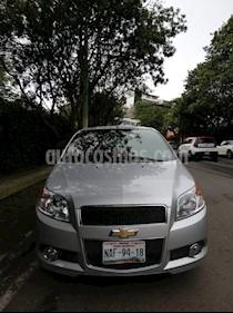 Foto venta Auto usado Chevrolet Aveo Paq E (2017) color Plata precio $157,000
