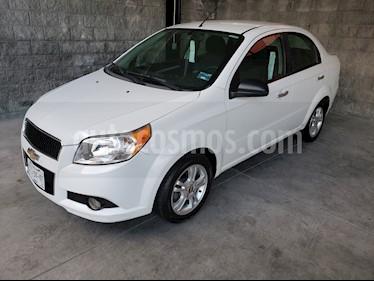 Chevrolet Aveo Paq E usado (2013) color Blanco precio $74,900