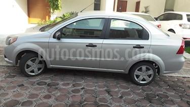 Foto venta Auto usado Chevrolet Aveo Paq F (2016) color Plata precio $110,000