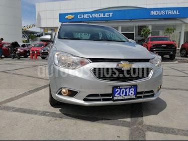 Foto venta Auto usado Chevrolet Aveo Paq F (2018) color Plata precio $205,000