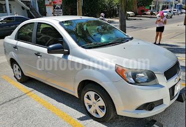 Chevrolet Aveo Paq M usado (2013) color Gris precio $95,000