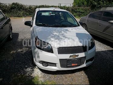 Foto venta Auto usado Chevrolet Aveo Paq M (2014) color Blanco precio $95,000