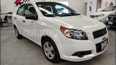 Foto venta Auto usado Chevrolet Aveo Paq M (2014) color Blanco precio $110,000