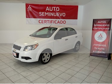 Foto venta Auto usado Chevrolet Aveo Paq M (2017) color Blanco precio $143,000