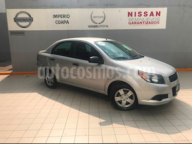 Foto venta Auto usado Chevrolet Aveo Paq M (2014) color Plata precio $115,000