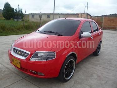Chevrolet Aveo Sedan 1.4L AA usado (2012) color Rojo precio $9.000.000