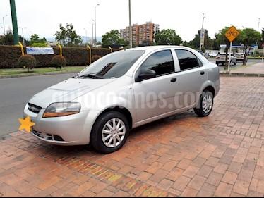 Chevrolet Aveo sedan 1.600 Aire usado (2009) color Gris precio $19.500.000