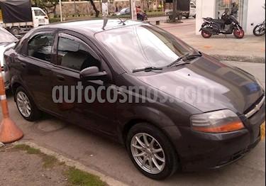 Chevrolet Aveo sedan 1.600 Aire usado (2011) color Gris precio $19.700.000