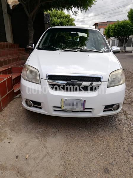 Chevrolet Aveo 1.6 usado (2012) color Blanco precio u$s3.700