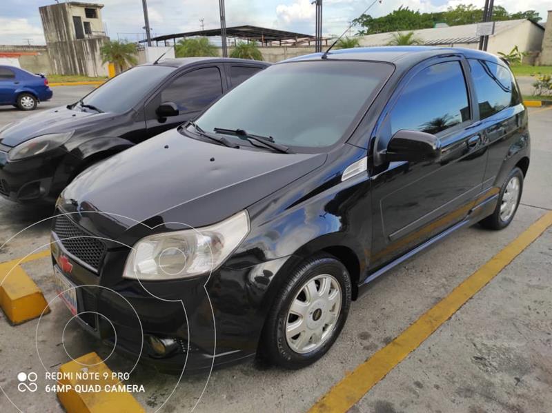 Chevrolet Aveo 1.6L usado (2012) color Negro precio u$s4.600