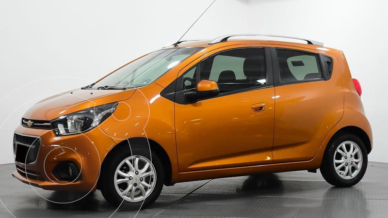 Chevrolet Beat Hatchback LTZ usado (2019) color Naranja precio $160,000