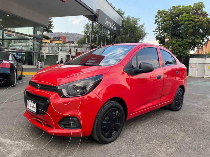 Chevrolet Beat Hatchback LS Sedan usado (2018) color Rojo precio $118,000