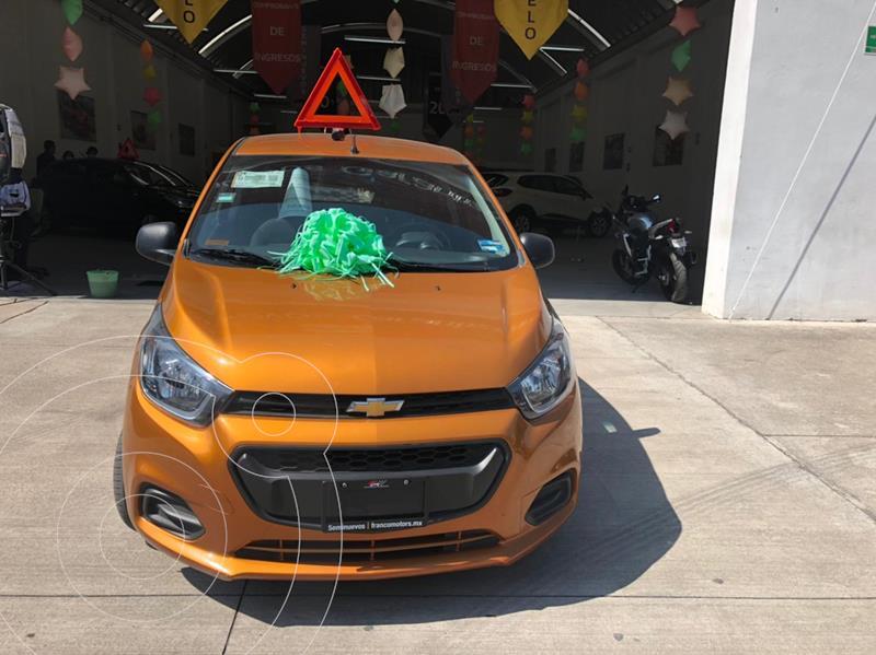 Foto Chevrolet Beat Hatchback LT usado (2020) color Naranja precio $185,000