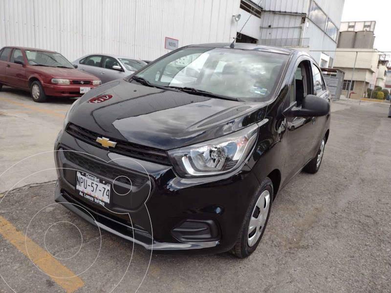 Chevrolet Beat Hatchback Version usado (2020) color Negro precio $189,000