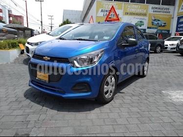 Foto venta Auto usado Chevrolet Beat 5p LT L4/1.2 Man (2018) color Azul Marino precio $155,000