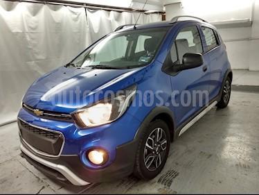 Foto venta Auto usado Chevrolet Beat Active (2019) color Azul Espacio precio $166,900