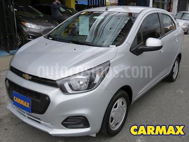 Chevrolet Beat LT  usado (2019) color Plata precio $36.900.000