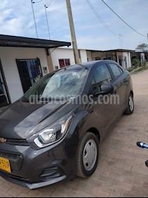 Chevrolet Beat LS  usado (2019) color Gris Galapagos precio $30.000.000