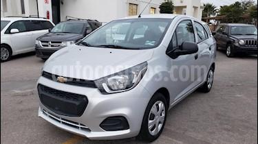 Foto venta Auto usado Chevrolet Beat LS (2018) color Gris precio $146,900