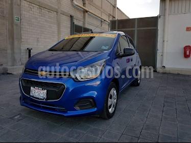 Foto venta Auto Seminuevo Chevrolet Beat LS (2018) color Azul Espacio precio $140,000