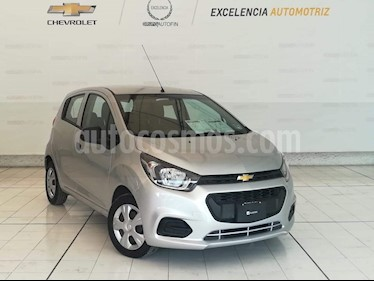 Foto venta Auto usado Chevrolet Beat LS (2018) color Plata Metalico precio $139,000