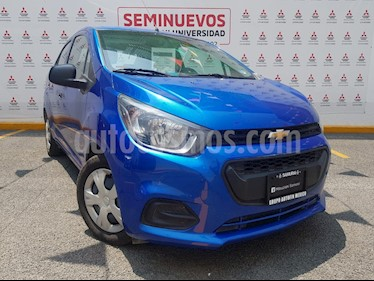Foto venta Auto usado Chevrolet Beat LT Sedan (2019) color Azul Denim precio $158,000