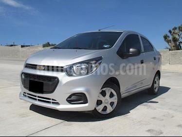 Foto venta Auto usado Chevrolet Beat LT Sedan (2018) color Plata Metalico precio $148,000