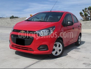 Foto venta Auto usado Chevrolet Beat LT Sedan (2018) color Rojo precio $148,000