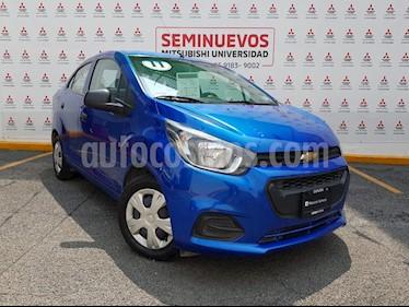 Foto venta Auto usado Chevrolet Beat LT Sedan (2018) color Azul Espacio precio $150,000