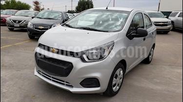 Foto venta Auto usado Chevrolet Beat LT (2019) color Plata precio $153,800
