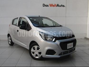 Foto venta Auto usado Chevrolet Beat LT (2018) color Plata precio $145,000