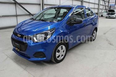 Foto venta Auto usado Chevrolet Beat LT (2019) color Azul precio $138,900