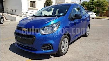 Foto venta Auto usado Chevrolet Beat LT (2019) color Azul precio $134,900