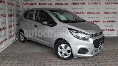 Foto venta Auto usado Chevrolet Beat LT (2018) color Plata Metalico precio $135,000