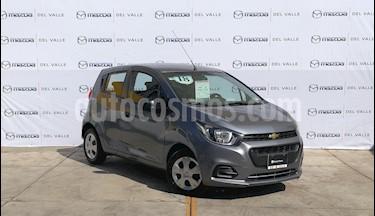 Foto venta Auto Seminuevo Chevrolet Beat LT (2018) color Gris Acero precio $138,000