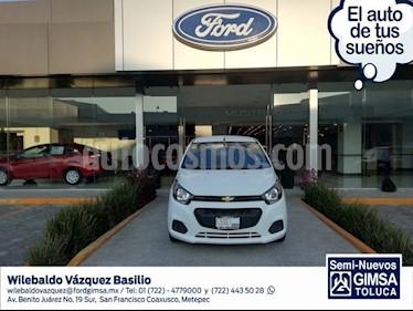 Foto venta Auto usado Chevrolet Beat LT (2018) color Blanco precio $133,000