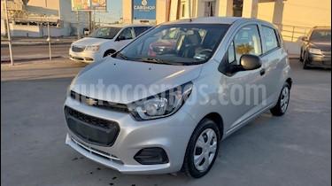 Foto venta Auto usado Chevrolet Beat LT (2018) color Plata precio $138,900